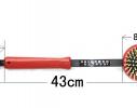 Массажер ручной, щетка двусторонняя с чесалкой на ручке фото 9