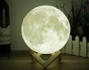 Настольный светильник 3D MOON LAMP Месяц 15 см фото 1