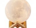 Настольный светильник 3D MOON LAMP Месяц 15 см фото 2