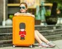 Чехол на чемодан для защиты от царапин и загрязнений фото 1