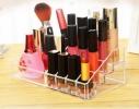 Подставка - органайзер для косметики акриловая на 16 ячеек фото 1