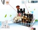 Подставка - органайзер для косметики акриловая на 16 ячеек фото 4