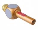 Беспроводной Bluetooth микрофон для караоке WSTER WS-1816 Золотой фото 3