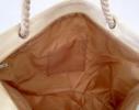 Пляжная сумка Черная с принтом Flamingo фото 4