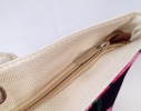 Пляжная сумка Черная с принтом Flamingo фото 3