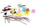 Детский набор для творчества 10 пушистиков из помпончиков фото 2, купить, цена