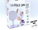 Зеркало My Fold Jin с LED подсветкой и зарядкой от USB фото 2