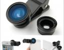 Увеличивающая линза - макро-объектив для камеры Рыбий глаз фото 2