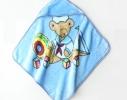 Плед детский с капюшоном Мишка моряк фото 1