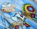 Плед детский с капюшоном Мишка моряк фото 5