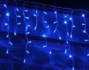 Гирлянда светодиодная Штора LED 350 цвет синий фото 1