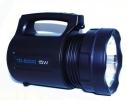 Мощный аккумуляторный фонарь фара TD-6000 15W фото 2