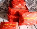 Органайзеры дорожные в наборе 3+3 сумки фото 6