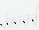 Вешалка на 5 крючков Белая фото 2