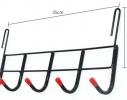 Вешалка на 5 крючков Белая фото 3