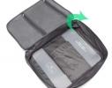 Органайзер - кейс для путешествий для блуз и рубашек Серый фото 2