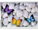 Поднос на подушке Бабочки фото
