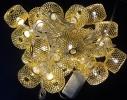 Гирлянда колесо фортуны Золото LED 20 фото 2