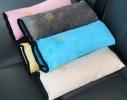 Подушка-накладка на ремень безопасности под голову Голубая фото 3