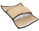 Подушка-накладка на ремень безопасности под голову Голубая фото 4