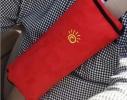 Подушка-накладка на ремень безопасности под голову Голубая фото 6