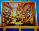 Картина на холсте по номерам Осенний город фото