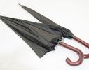 Зонт Антишторм трость Черный фото 1