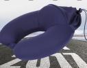 Подушка - подголовник дорожная с эффектом памяти Memory Foam фото 3