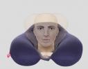Подушка - подголовник дорожная с эффектом памяти Memory Foam фото 4