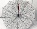 Зонт трость на 10 пластиковых спиц фото 1