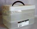 Пластиковый бокс-контейнер с крышкой 3 в 1 фото 1