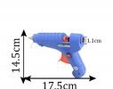 Пистолет для силиконового клея XL-F60 150906 фото 3