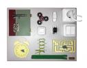 Бизиборд Часы и дверь Разноцветный фото