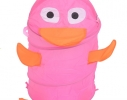 Корзина для игрушек Baby Hit Утенок Розовый фото