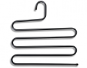 Вешалка S-формы, 5 уровней Черная фото 2