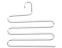 Вешалка S-формы, 5 уровней Белая фото 2