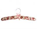 Набор мягких вешалок Винтаж розовые цветы фото 4