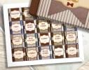 Шоколадный набор Настоящему мужчине 100 г. Шоколад молочный фото 1