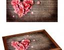 Поднос с подушкой Влюбленность фото