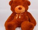 Плюшевый медведь Тедди 200 см Коричневый фото 2