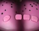 Проектор звездного неба Night Turtle Черепаха музыкальная розовая