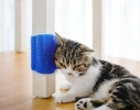 Щетка - чесалка угловая игрушка для самогруминга кошек Self Groomer фото 4