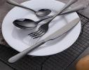 Набор столовых приборов 4 предмета черный фото
