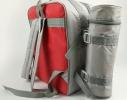Терморюкзак с автономным отделом для термоса Красный фото