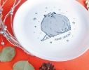 Тарелка «Какие сосиски» фото