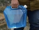 Складная, походная канистра - пакет для воды 5л фото 6