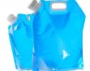 Складная, походная канистра - пакет для воды 5л фото 1