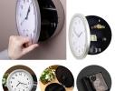 Настенные часы-сейф Safe clock Серебристые фото 3