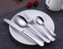Набор столовых приборов 4 предмета серебро фото 1