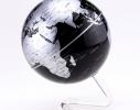 Глобус вращающийся на прозрачной подставке фото